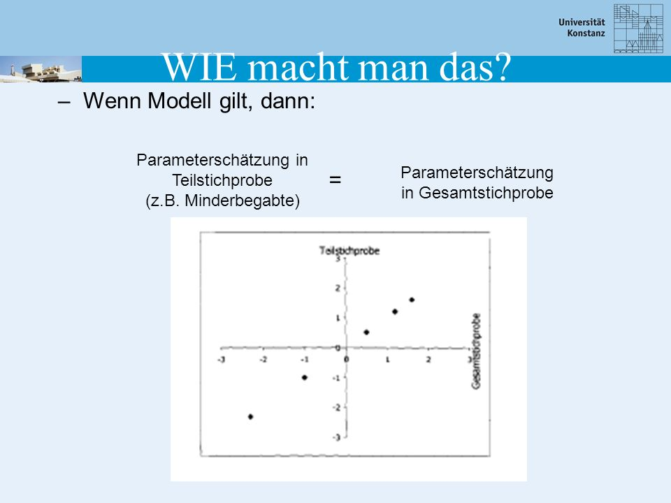 WIE macht man das Wenn Modell gilt, dann: =