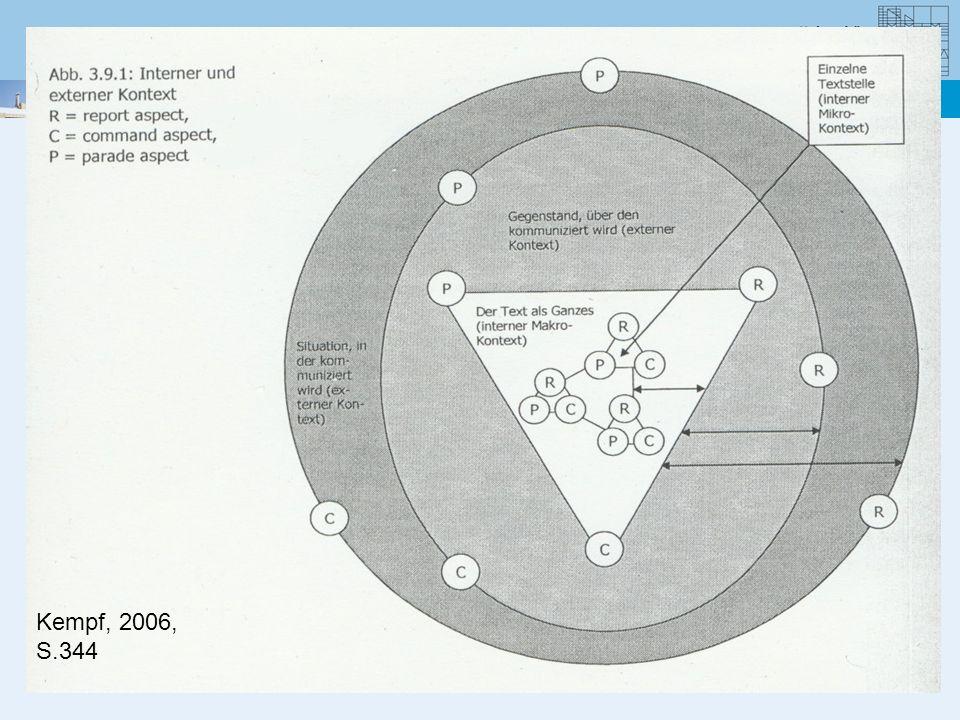 Konsistenz der Bedeutungen ist damit ein methodisches Prinzip (Übereinstimmung von Textstellen als Indiz für richtiges Verstehen und Widerspüchlichkeiten verweisen auf mehr Analysebedarf