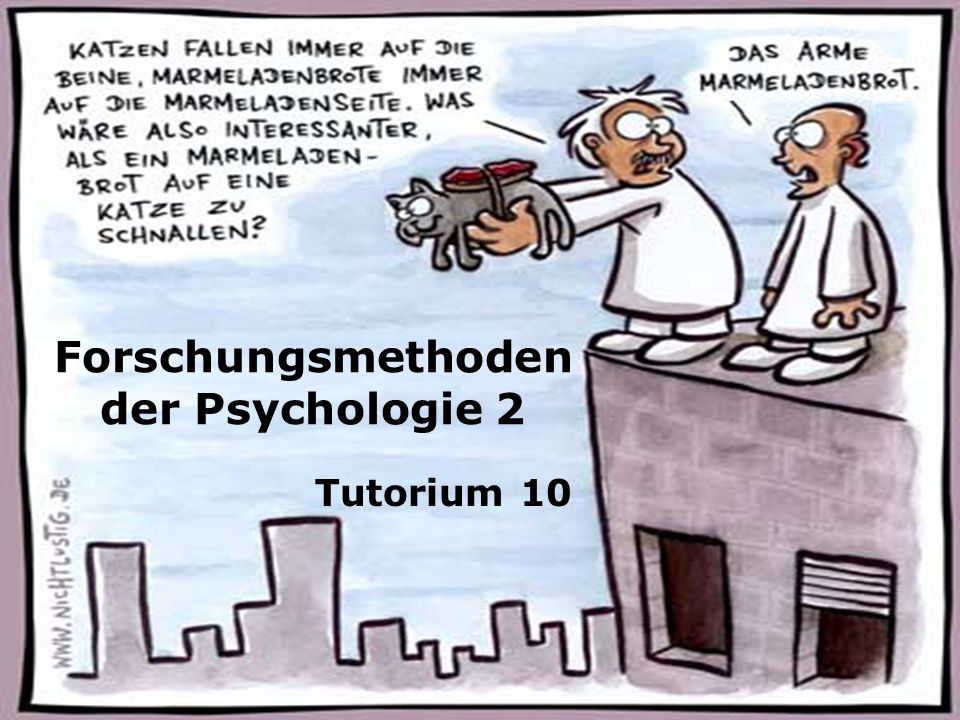 Forschungsmethoden der Psychologie 2
