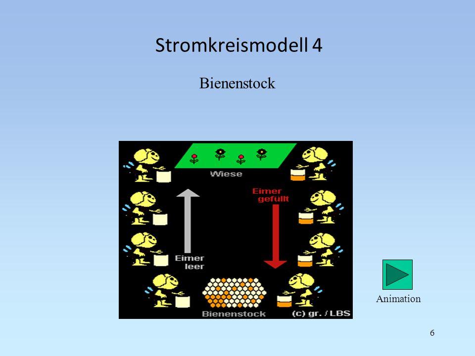 Stromkreismodell 4 Bienenstock Animation