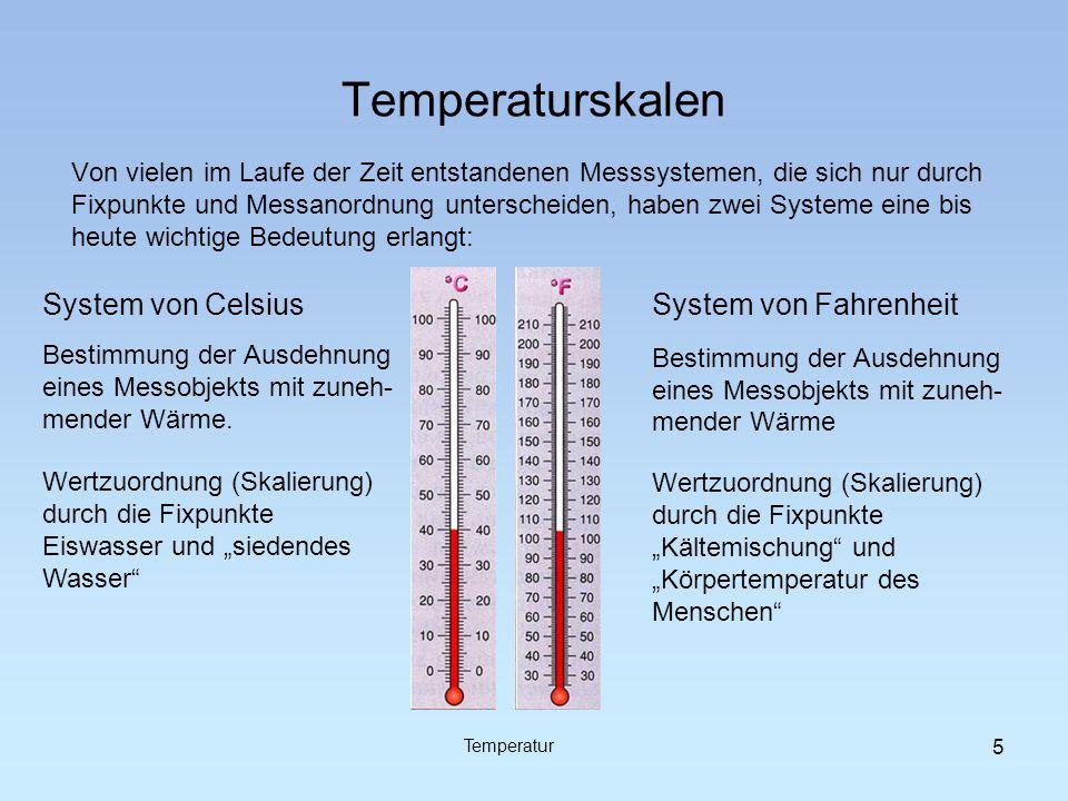 Temperaturskalen