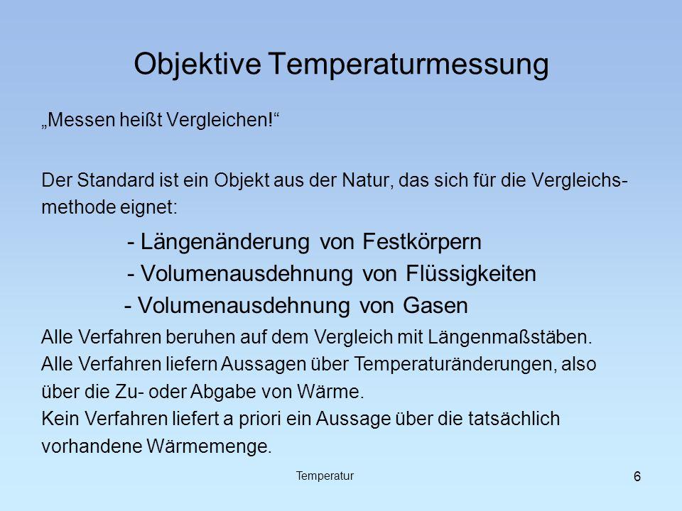 Objektive Temperaturmessung