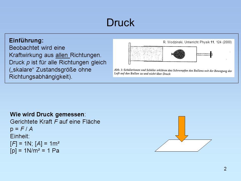 R. Wodzinski, Unterricht Physik 11, 124 (2000)