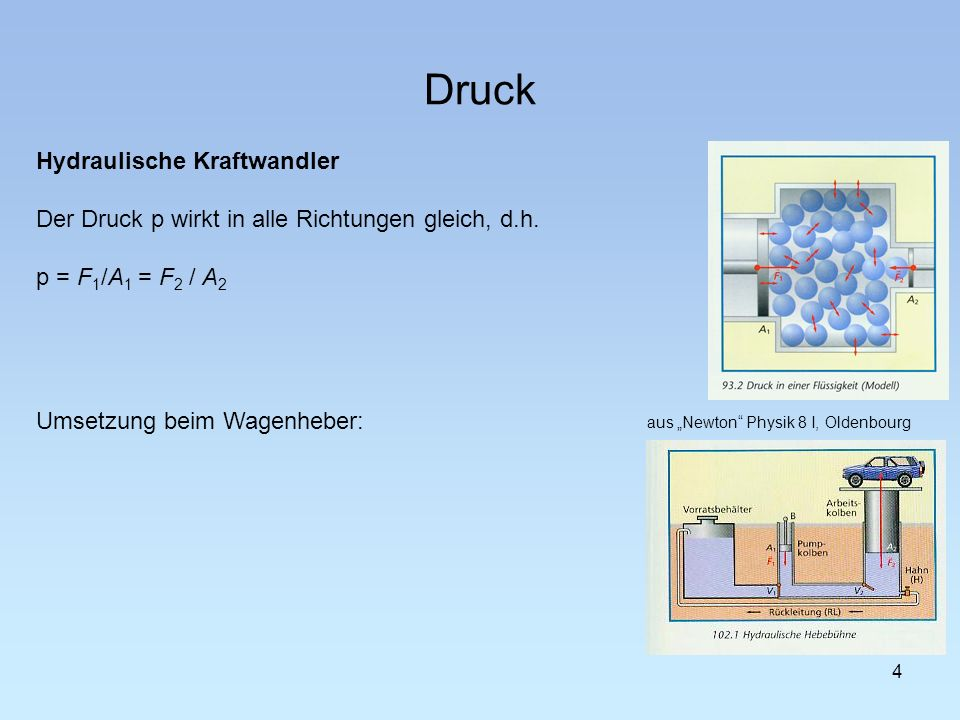"""aus """"Newton Physik 8 I, Oldenbourg"""