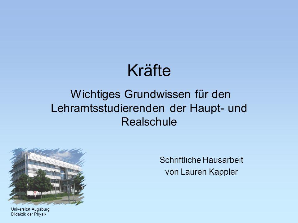 Schriftliche Hausarbeit von Lauren Kappler