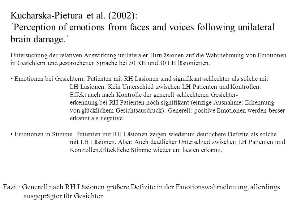 Kucharska-Pietura et al. (2002):