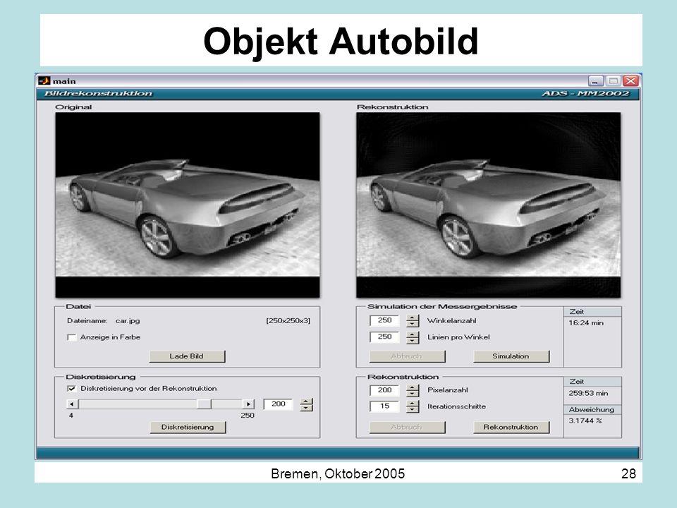 Objekt Autobild Bremen, Oktober 2005