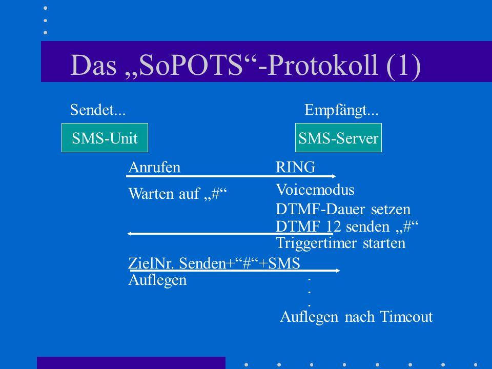 "Das ""SoPOTS -Protokoll (1)"