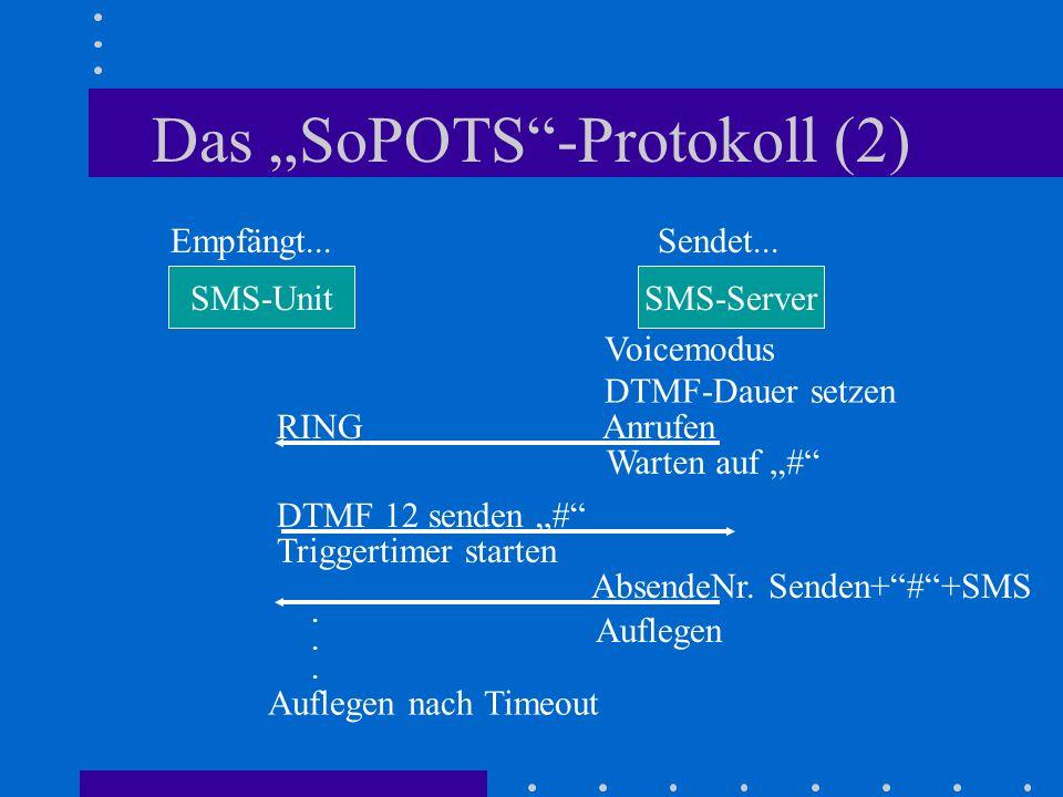 "Das ""SoPOTS -Protokoll (2)"