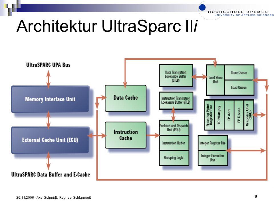 Architektur UltraSparc IIi