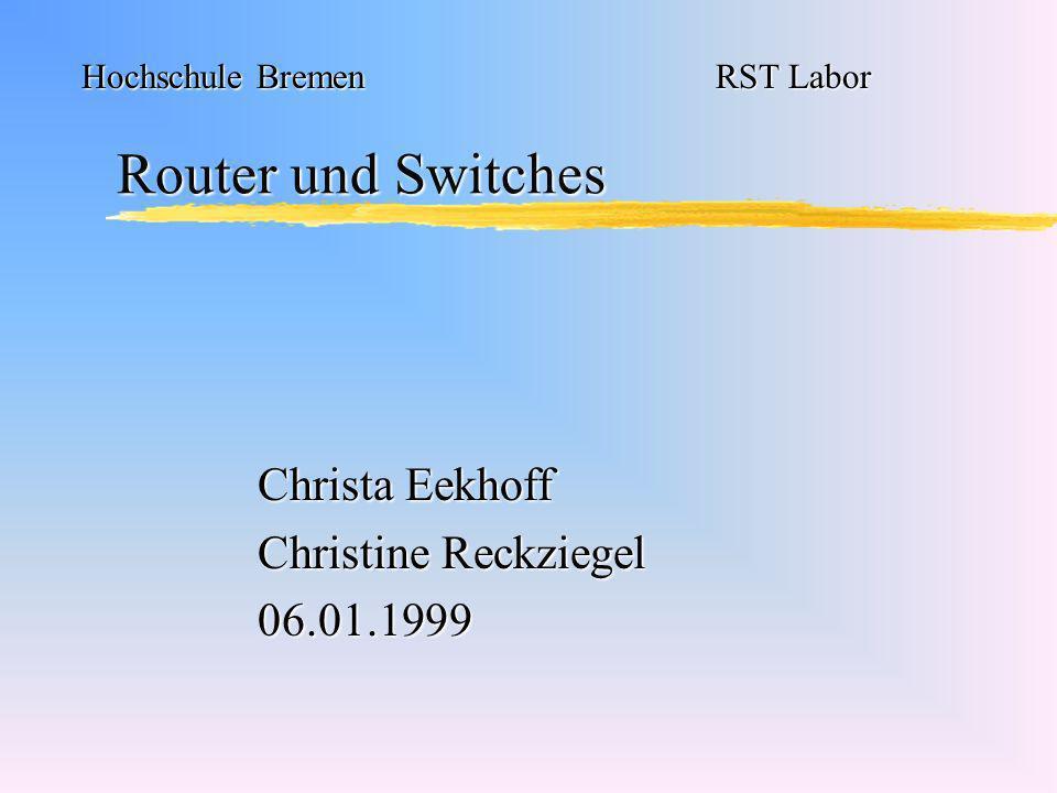 Christa Eekhoff Christine Reckziegel 06.01.1999