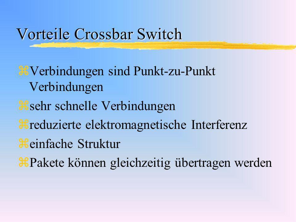 Vorteile Crossbar Switch