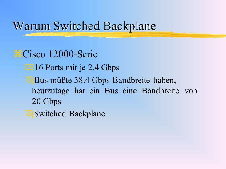 Warum Switched Backplane