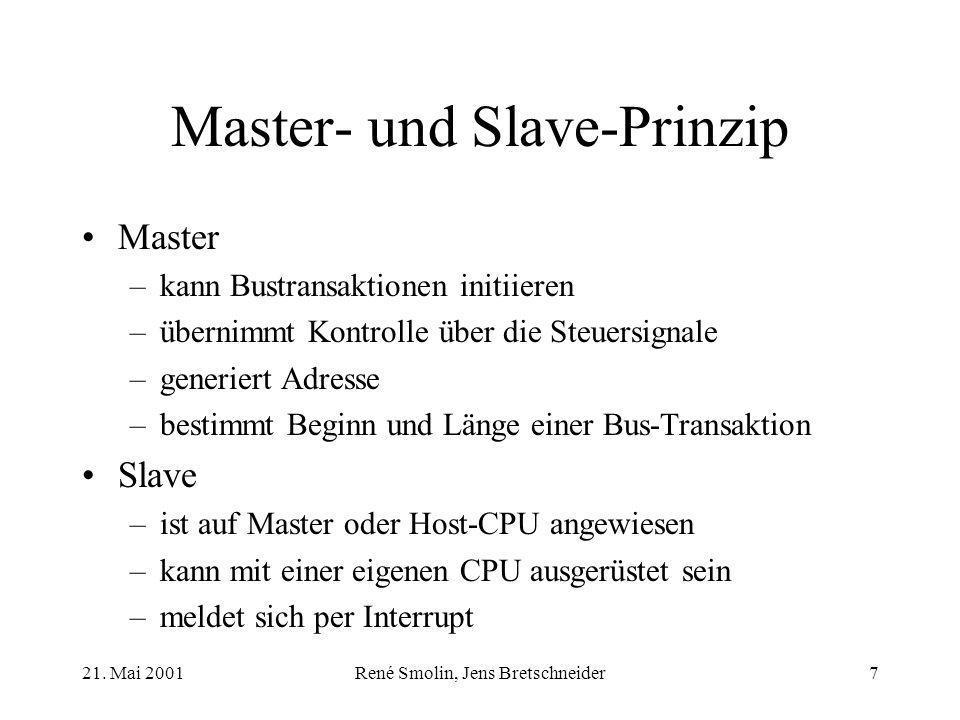 Master- und Slave-Prinzip