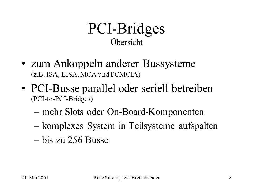 PCI-Bridges Übersicht