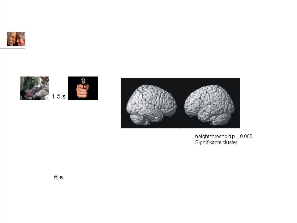 Reaktionen auf soziale / nicht-soziale Stimuli