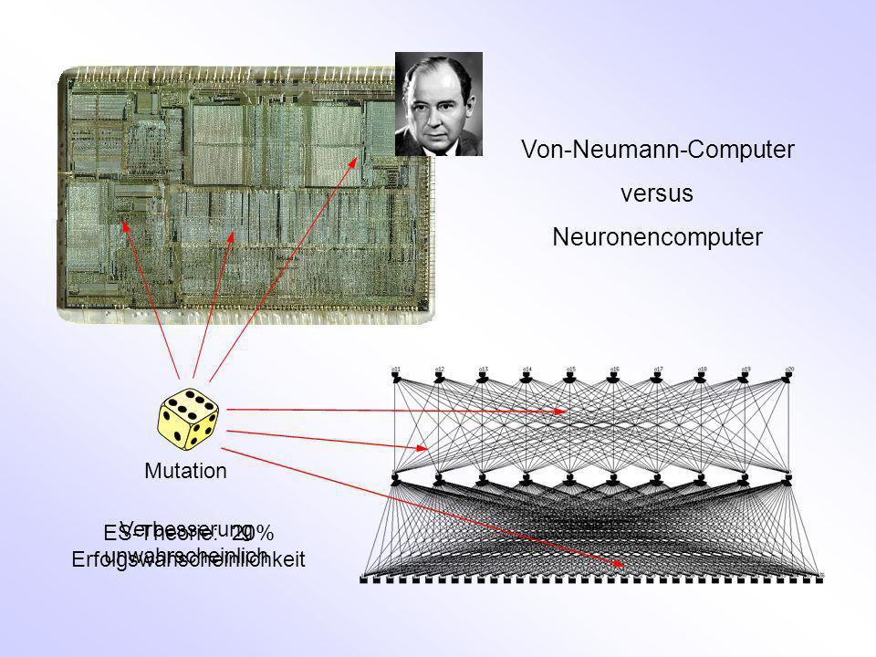 Von-Neumann-Computer versus Neuronencomputer