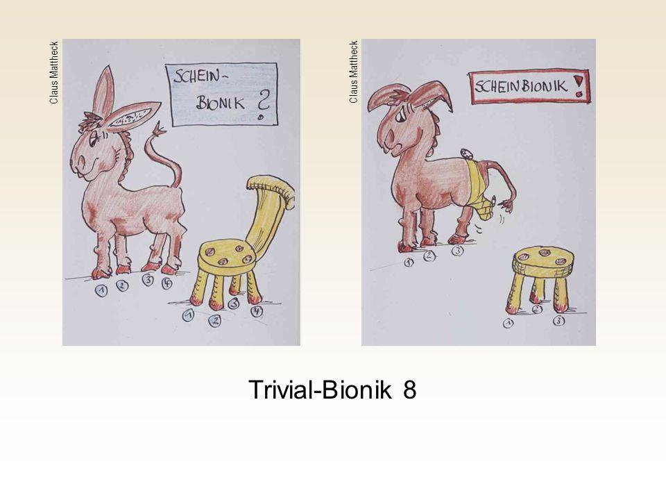 Claus Mattheck Claus Mattheck Trivial-Bionik 8