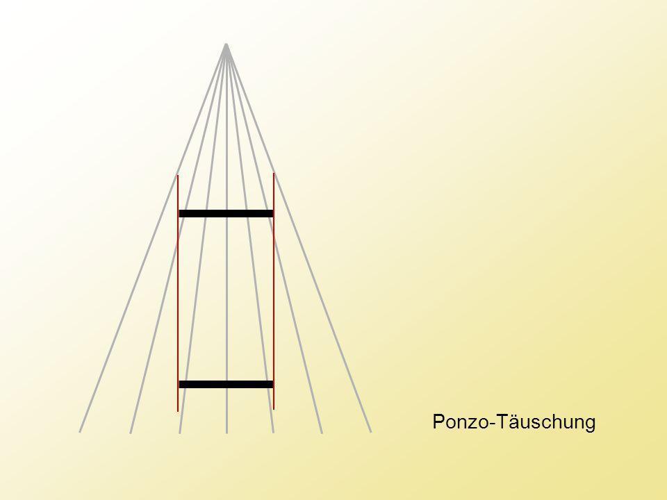 Ponzo-Täuschung