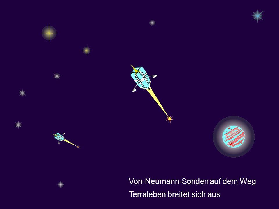 Von-Neumann-Sonden auf dem Weg