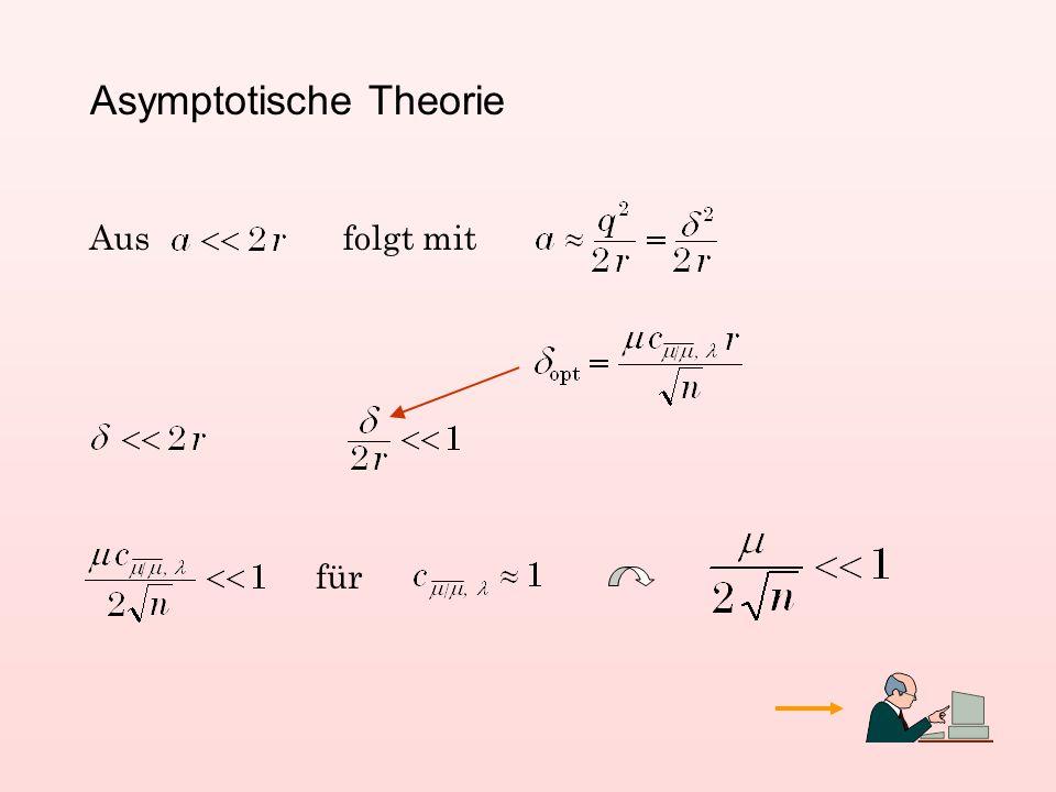 Asymptotische Theorie