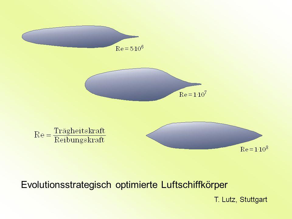 Evolutionsstrategisch optimierte Luftschiffkörper