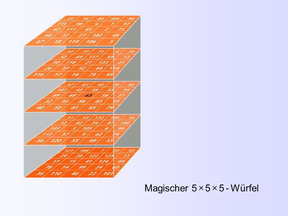 Magischer 5  5  5 - Würfel