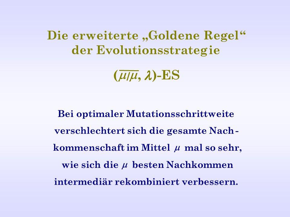 "( m m , l l ) - ES Die e rw eiter t e "" Goldene Regel"
