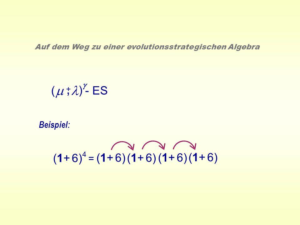 , m l ( ) - ES (1+ 6) (1+ 6) (1+ 6) (1+ 6) (1+ 6) = Beispiel: g +