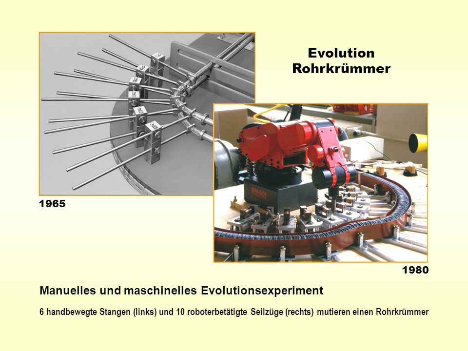 Evolution Rohrkrümmer
