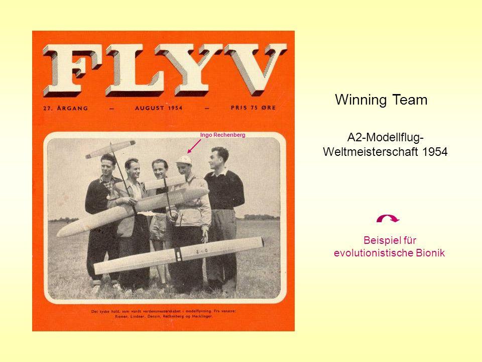 Winning Team A2-Modellflug-Weltmeisterschaft 1954