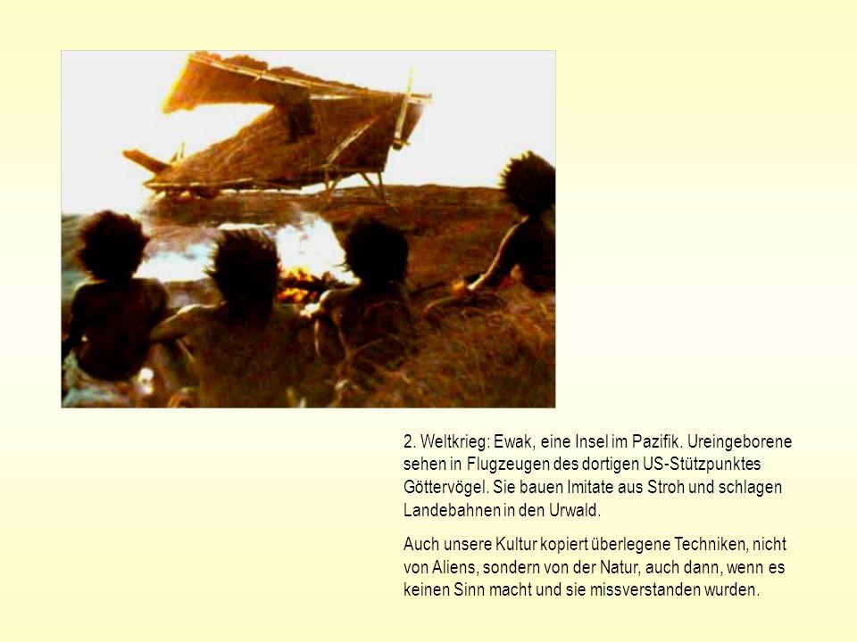 2. Weltkrieg: Ewak, eine Insel im Pazifik