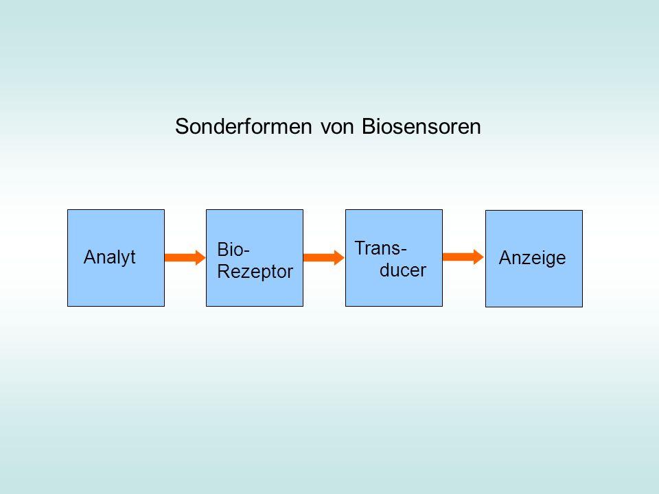 Sonderformen von Biosensoren