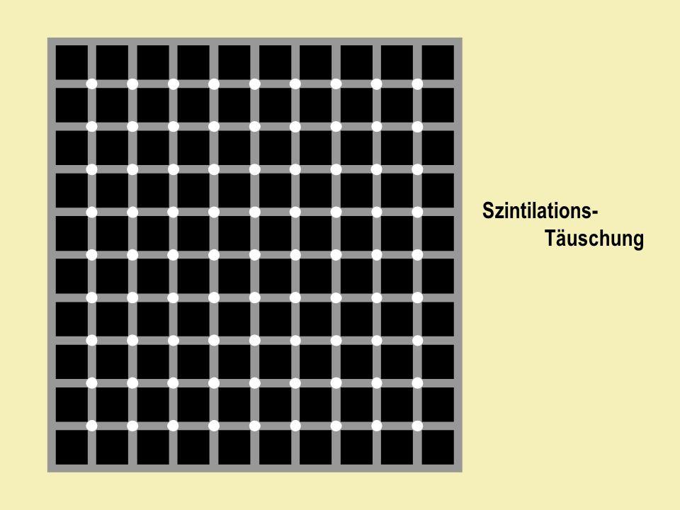 Szintilations- Täuschung