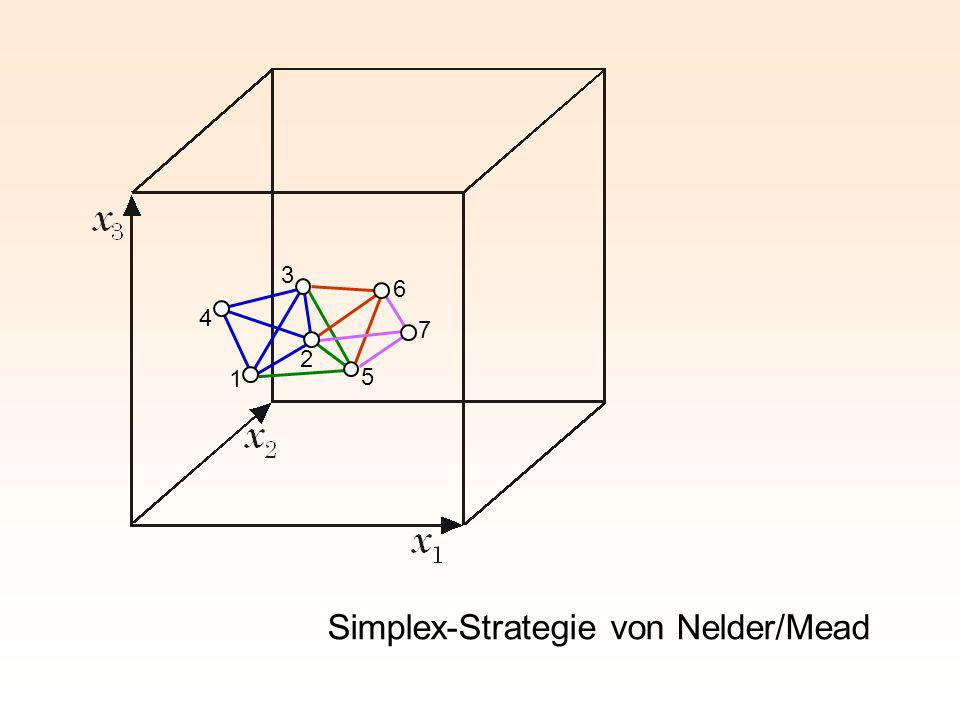 Simplex-Strategie von Nelder/Mead