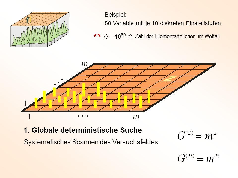 1. Globale deterministische Suche