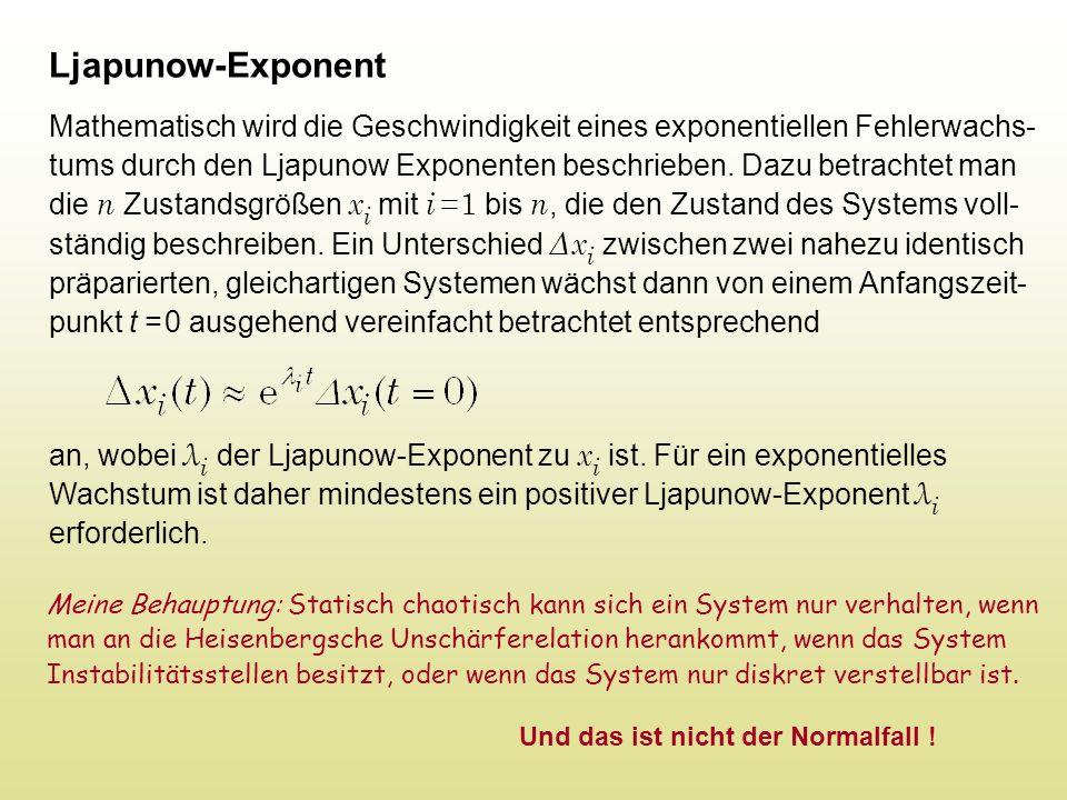 Ljapunow-Exponent