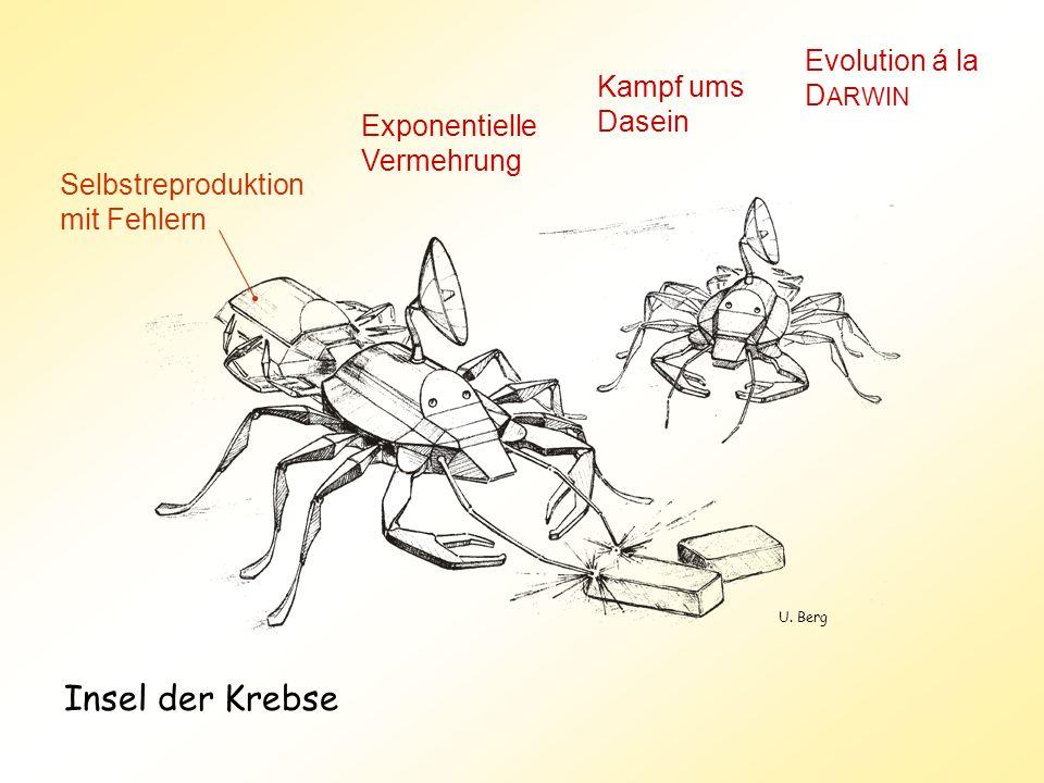 Insel der Krebse Evolution á la DARWIN Kampf ums Dasein