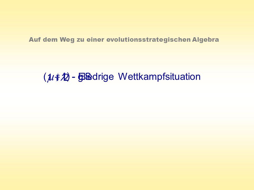 , m , l ( 1 + 1 2 ) - gliedrige Wettkampfsituation - ES +