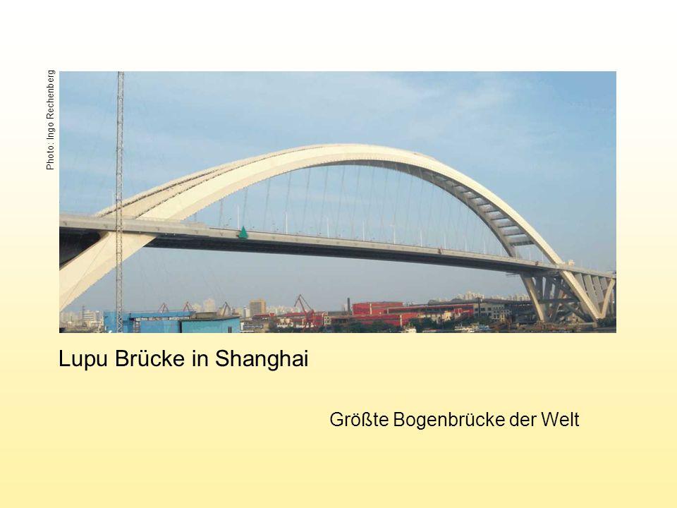 Lupu Brücke in Shanghai