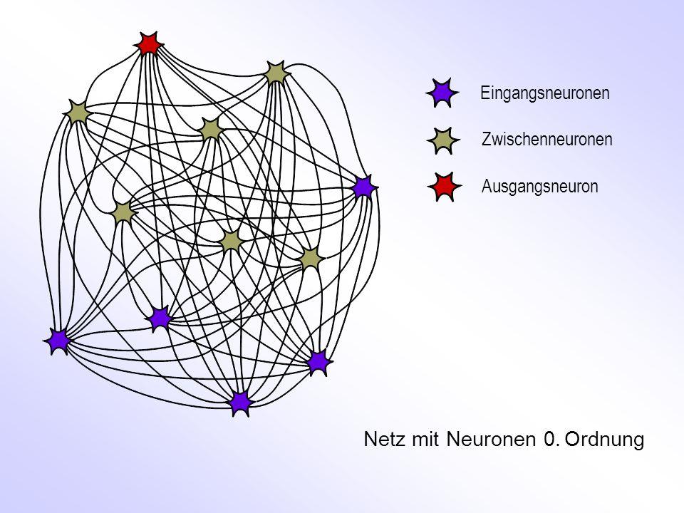 Netz mit Neuronen 0. Ordnung