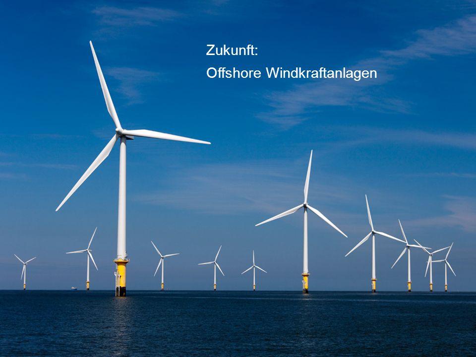 Zukunft: Offshore Windkraftanlagen