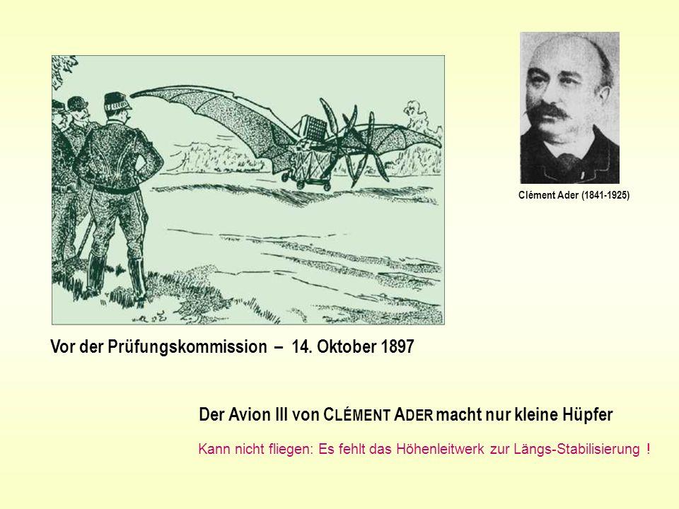 Vor der Prüfungskommission – 14. Oktober 1897