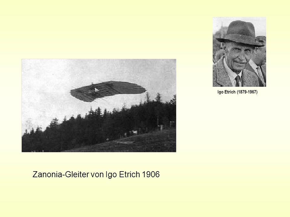 Zanonia-Gleiter von Igo Etrich 1906