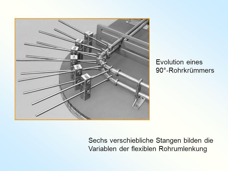 Evolution eines 90°-Rohrkrümmers