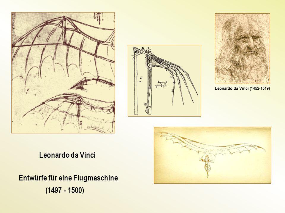 Entwürfe für eine Flugmaschine (1497 - 1500)