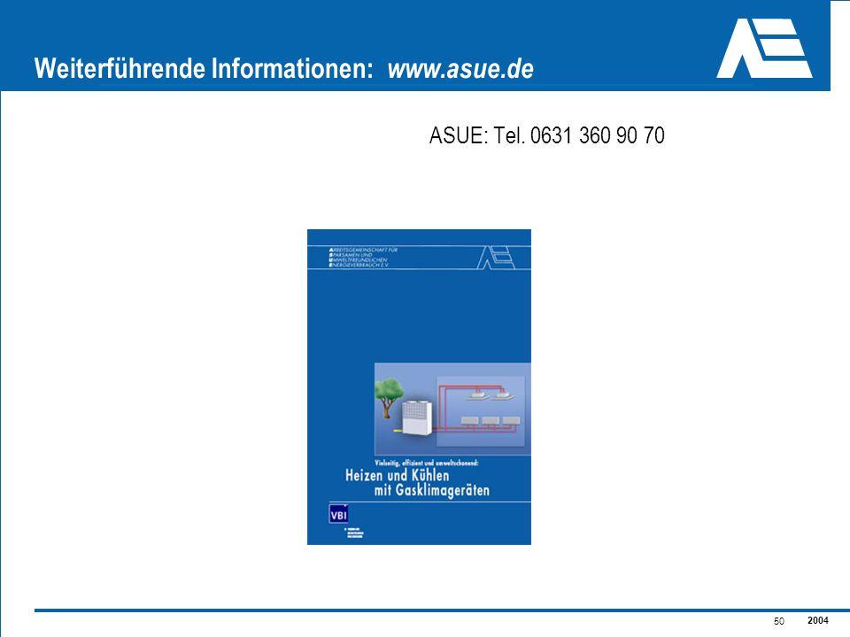 Weiterführende Informationen: www.asue.de