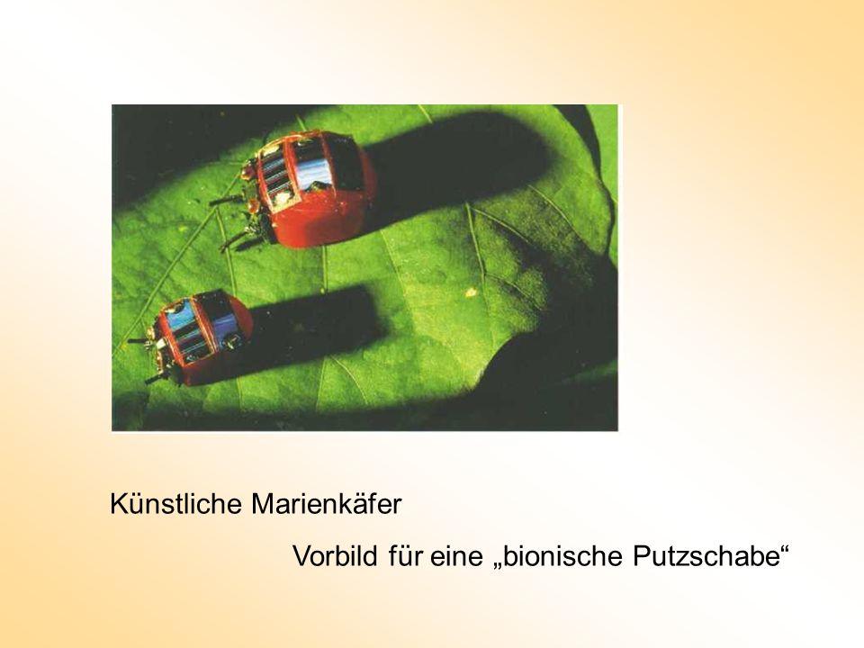 Künstliche Marienkäfer