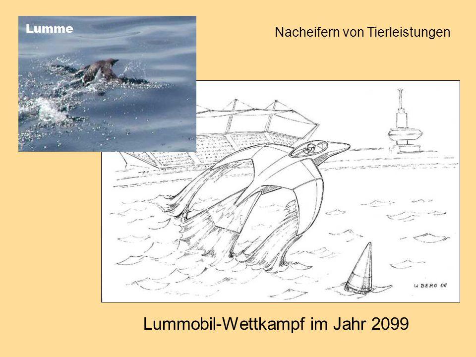 Lummobil-Wettkampf im Jahr 2099