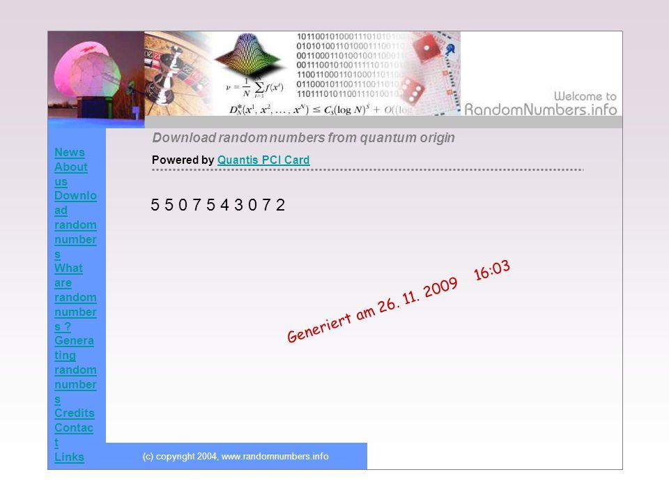 (c) copyright 2004, www.randomnumbers.info